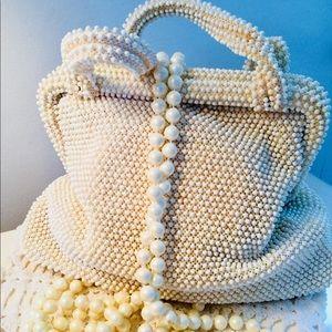 💥Price Drop Vintage Corde Beaded Bag
